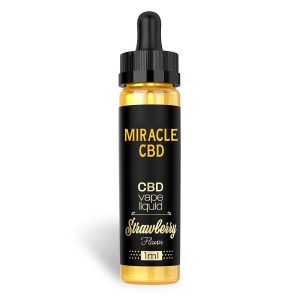 Miracle CBD Vape Liquid [1ml] - Strawberry