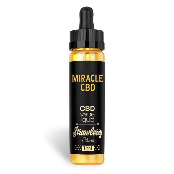 Miracle CBD Vape Liquid [1ml] - Strawberry